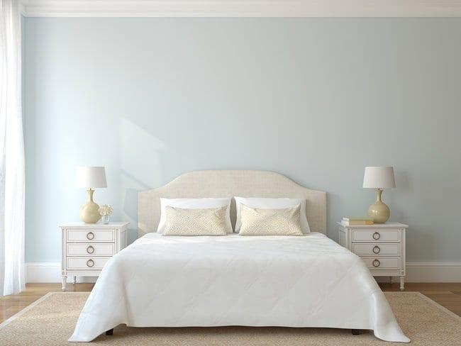 Bedroom interior. Provance. 3d render.