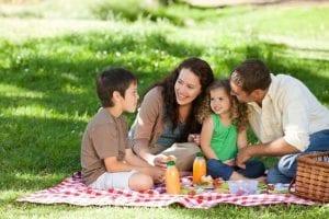 Atividades de férias para a família