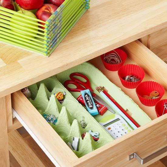 organizador-para-gavetas-artesanato-com-caixas-de-ovos
